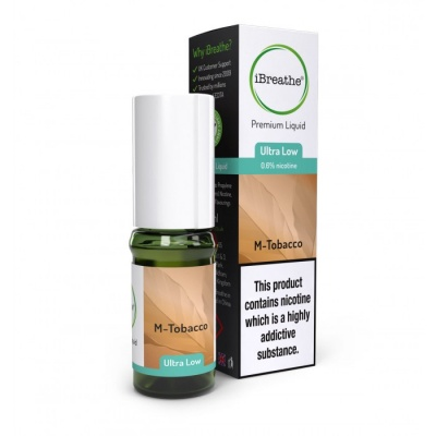 M-TOBACCO iBreathe Premium E-Liquid 10ml